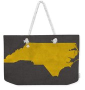 Appalachian State University Mountaineers Boone Nc College Town State Map Poster Series No 010 Weekender Tote Bag