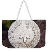 Appalachian Trail Historic Marker Weekender Tote Bag
