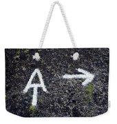 Appalachian Trail Symbol Weekender Tote Bag