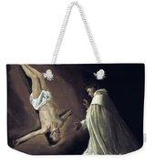 Apparition Of Apostle Saint Peter To Saint Peter Nolasco Weekender Tote Bag