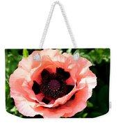 Appealing Pink Poppy Weekender Tote Bag