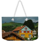 Appenzell Famous Windows Weekender Tote Bag
