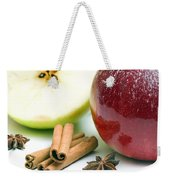 Apple And Cinnamon Weekender Tote Bag