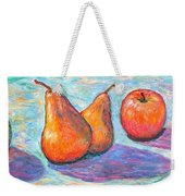 Apple And Pear Twirl Weekender Tote Bag