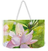 Apple Blossom And Buds Weekender Tote Bag