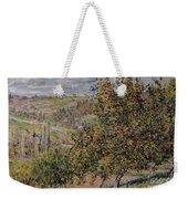 Apple Blossom Weekender Tote Bag by Claude Monet