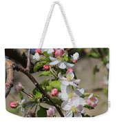 Apple Blossom Hill Weekender Tote Bag