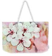 Apple Blossoms Pink - Digital Paint Weekender Tote Bag