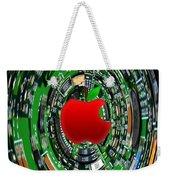Apple Computer Abstract  Weekender Tote Bag