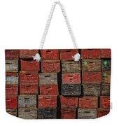 Apple Crates Weekender Tote Bag
