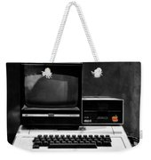 Apple II Personal Computer 1977 Weekender Tote Bag by Bill Cannon