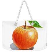 Red Apple Weekender Tote Bag