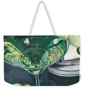 Apple Martini Weekender Tote Bag by Debbie DeWitt