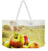 Apple Picking Time Weekender Tote Bag by Edward Fielding