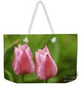 Apple Pink Tulips Weekender Tote Bag