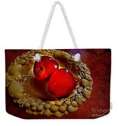 Apple Still Life 2 Weekender Tote Bag