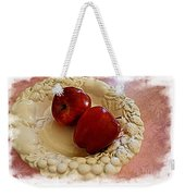 Apple Still Life 3 Weekender Tote Bag