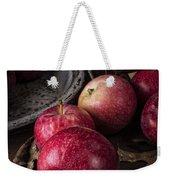 Apple Still Life Weekender Tote Bag