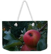 Apple Sunset Weekender Tote Bag