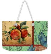 Apple Tapestry-jp2203 Weekender Tote Bag
