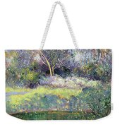 Apple Tree And Crescent Moon Weekender Tote Bag