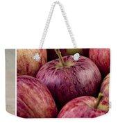 Apples 01 Weekender Tote Bag