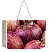 Apples 02 Weekender Tote Bag by Nailia Schwarz