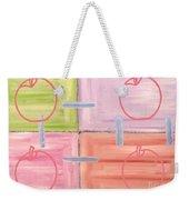 Apples 1 Weekender Tote Bag