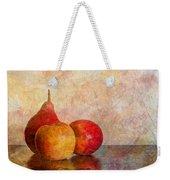 Apples And A Pear Weekender Tote Bag