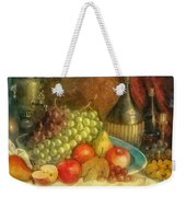 Apples And Grapes Weekender Tote Bag