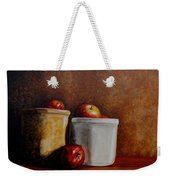 Apples And Jars Weekender Tote Bag
