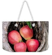 Apples In Tree Weekender Tote Bag