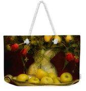 Apples Pears And Tulips Weekender Tote Bag