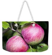2 Apples On Tree Weekender Tote Bag