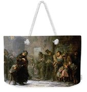 Applicants For Admission To A Casual Weekender Tote Bag by Sir Samuel Luke Fildes