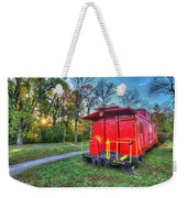 Appomattox Caboose At Sun Rise Weekender Tote Bag