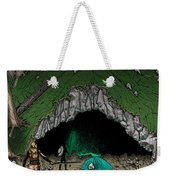 Approach To The Kobold Caves Weekender Tote Bag