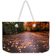 Approaching Autumn Weekender Tote Bag
