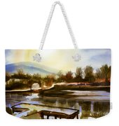 Approaching Dusk IIb Weekender Tote Bag by Kip DeVore