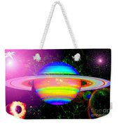 Approaching Saturn From The East Weekender Tote Bag