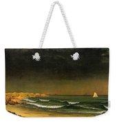 Approaching Storm Near Newport Beach Weekender Tote Bag by Martin Heade
