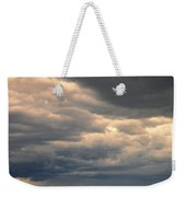 Approaching Storm On Country Road Weekender Tote Bag