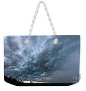 Approaching Storm Over Belton-sunset Weekender Tote Bag