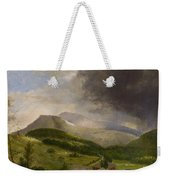 Approaching Storm  White Mountains Weekender Tote Bag by Alvan Fisher