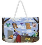 Approaching The Finish Line Weekender Tote Bag
