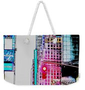 Approaching Times Square Weekender Tote Bag