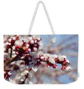 Apricot Blossoms Popping Weekender Tote Bag