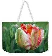 Apricot Parrot Tulip Weekender Tote Bag