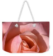 Apricot Rose Weekender Tote Bag