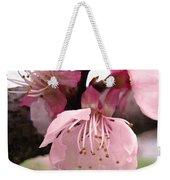 Apricot Spring Weekender Tote Bag